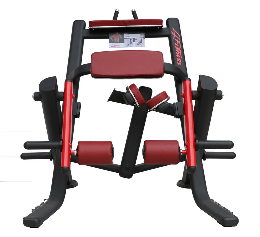Durable Hammer Strength Plate Loaded Equipment , Prone Leg Curl Machine