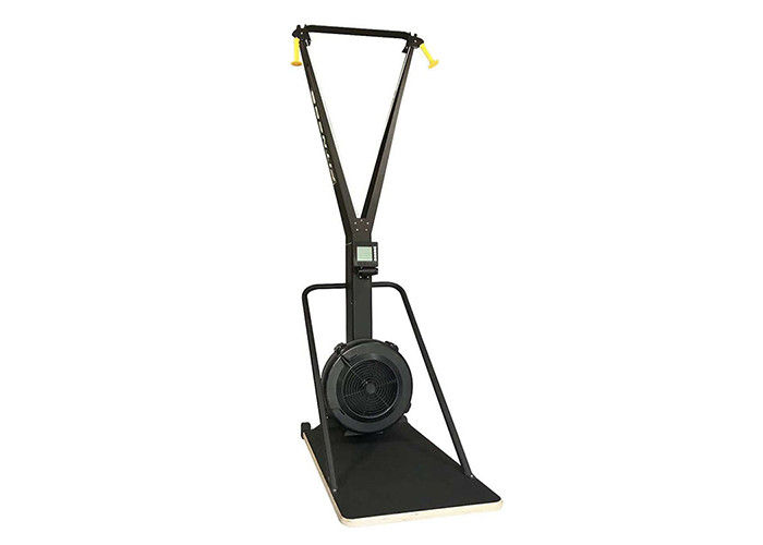 Black Commecial Grade Gym Fitness Equipment / Skiing Exercise Machine